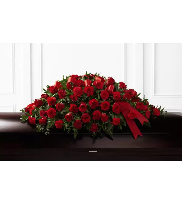 Dearly Departed™ Casket Spray Arrangement by FTD
