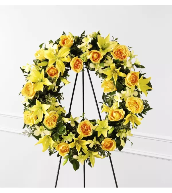 The Ring of Friendship™ Wreath by FTD Flowers