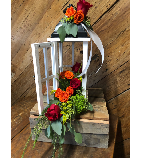 Fresh Floral Lantern