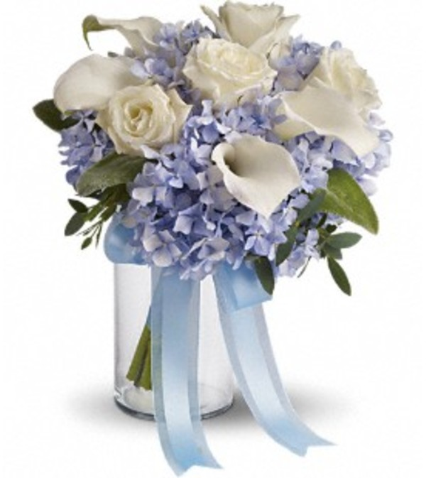 Love In Blue Bouquet *PLEASE CALL TO ORDER*