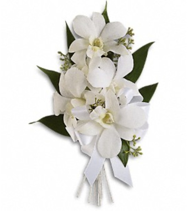 Graceful Orchids Wrist Corsage *PLEASE CALL TO ORDER*