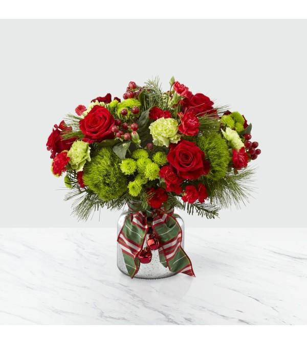 Jingle Bells Bouquet FTD