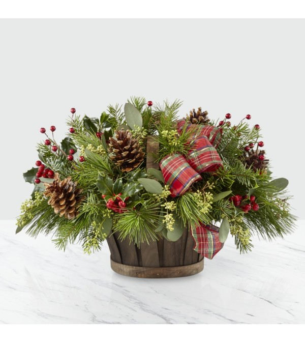 Holiday Homecomings Basket FTD