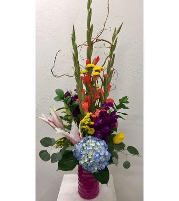 Pretty and Bright Vase