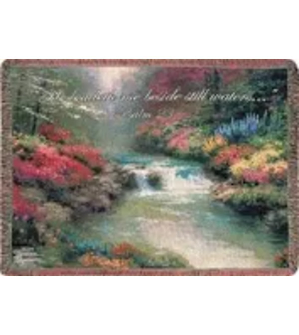 Autumn Tranquility Tapestry Throw