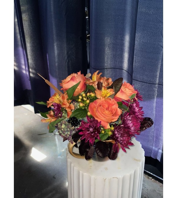 Florist's Choice Fall Centerpiece
