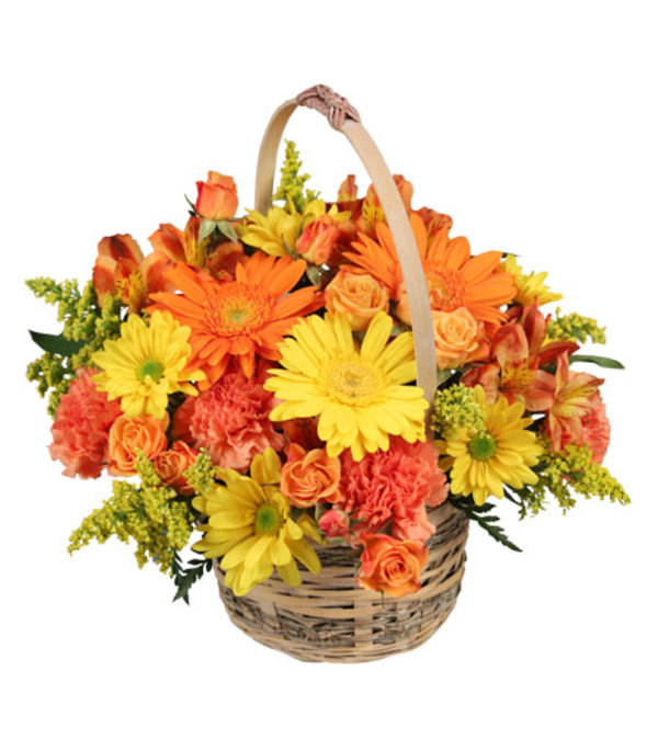 Thanksgiving Cheer Giver Basket