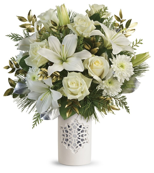 White Snowflake Bouquet