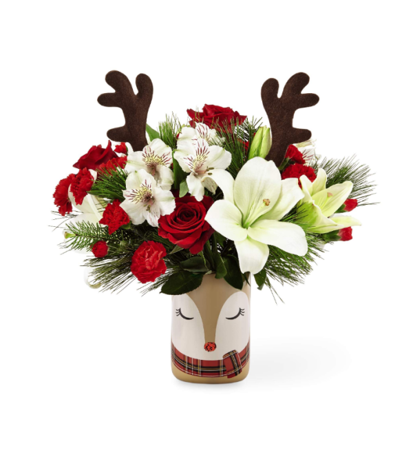BRIGHT REINDEER BOUQUET