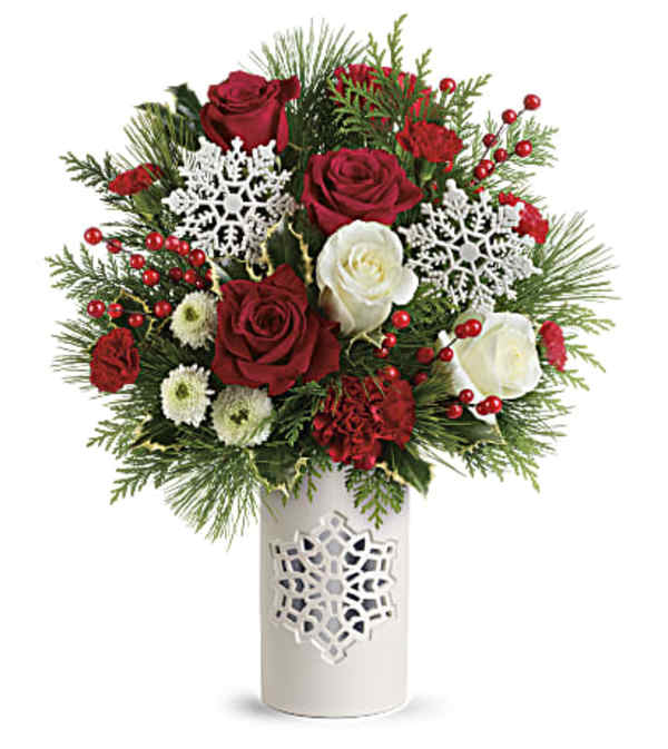 Teleflora's Flurry of Elegance