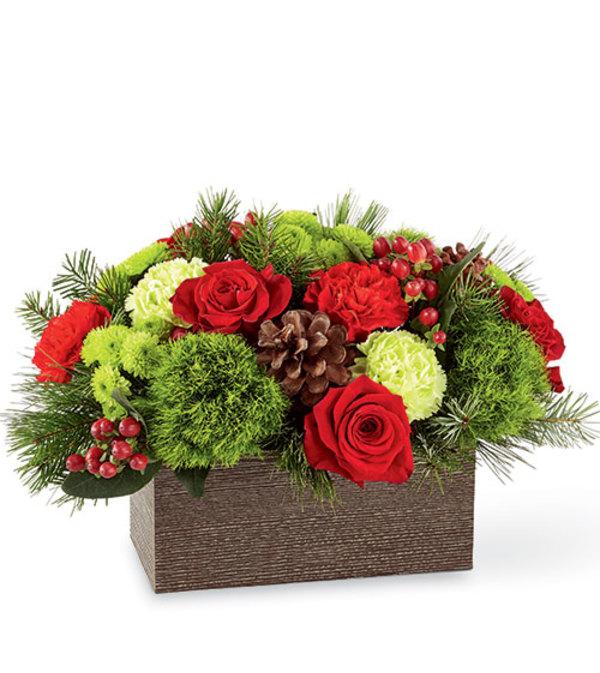 Christmas Cabin Box