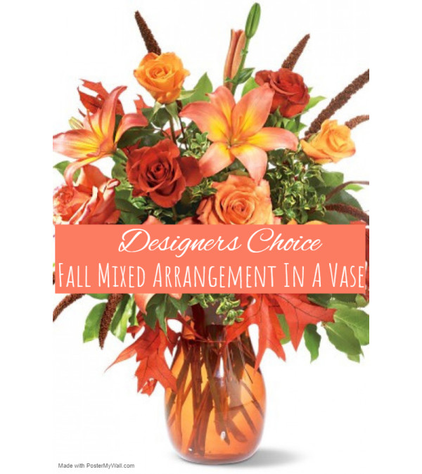 Autumn In A Vase Florist Design