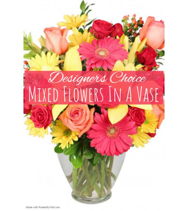 Garden Galore In Vase Florist Design