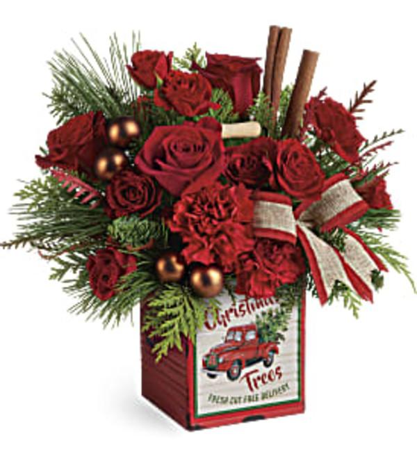 Teleflora Merry Vintage Christmas Bouquet