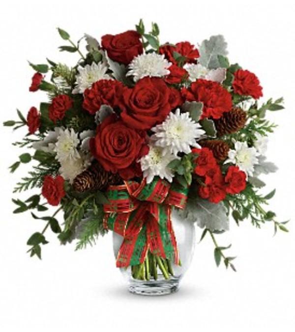 Teleflora Holiday Shine Bouquet