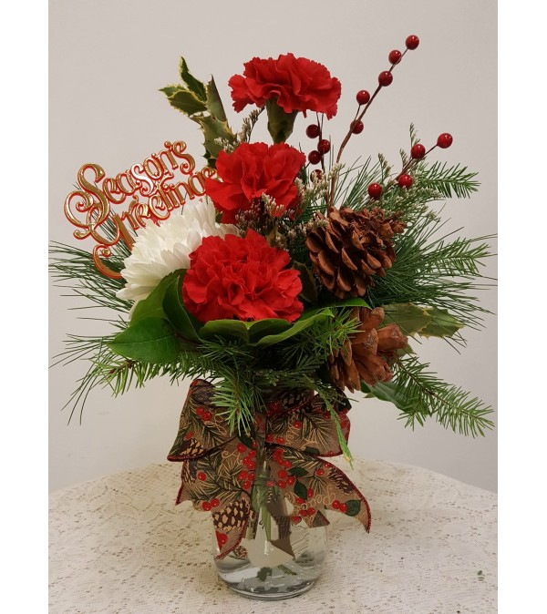 Christmas Mason Jar #1