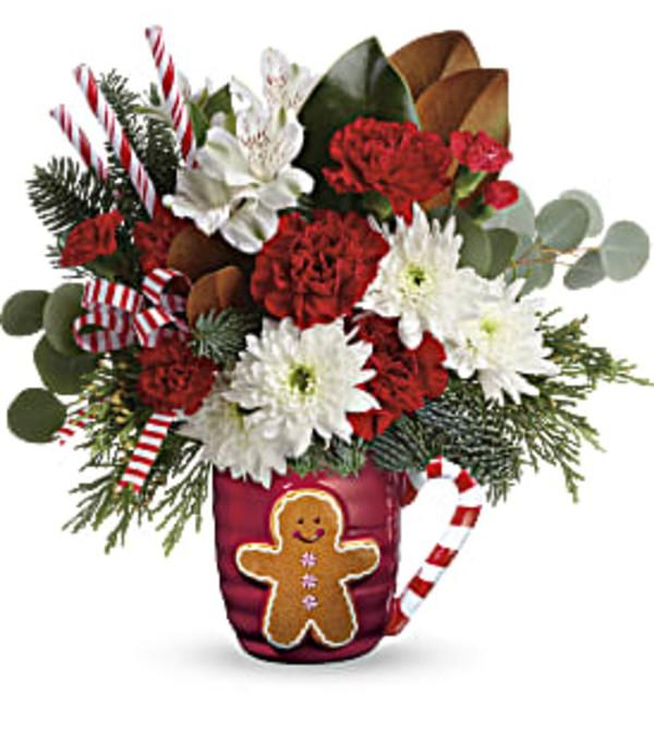 Send A Hug Gingerbread Greetings
