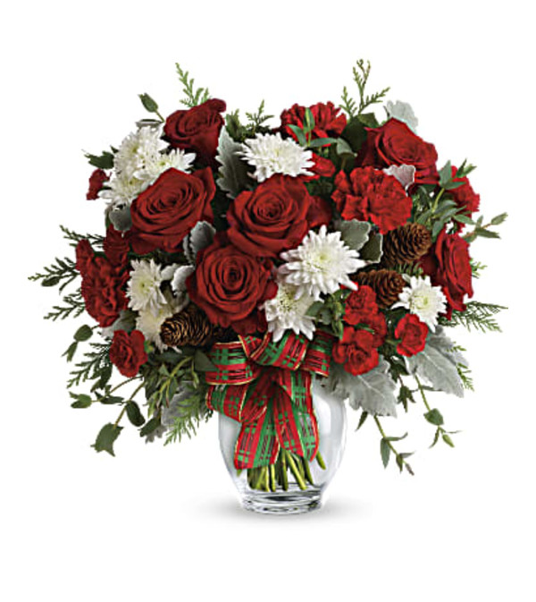 THE HOLIDAY SHINE BOUQUET