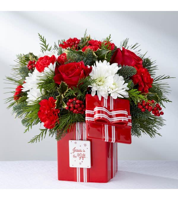 Red Present Bqt