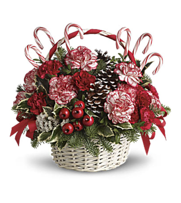 Peppermint Candy Basket