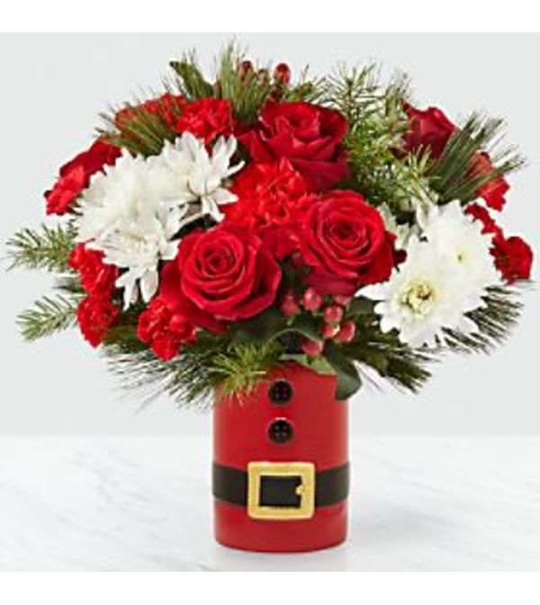 Let's Be Jolly Santa Bouquet
