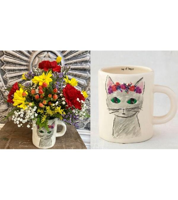 Cup of Happy-Kitty Mug