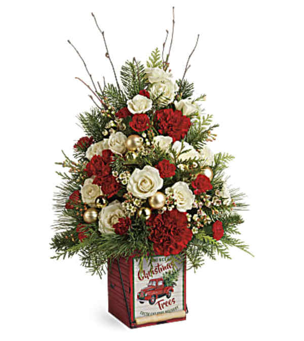 Teleflora's Vintage Greeting Tree