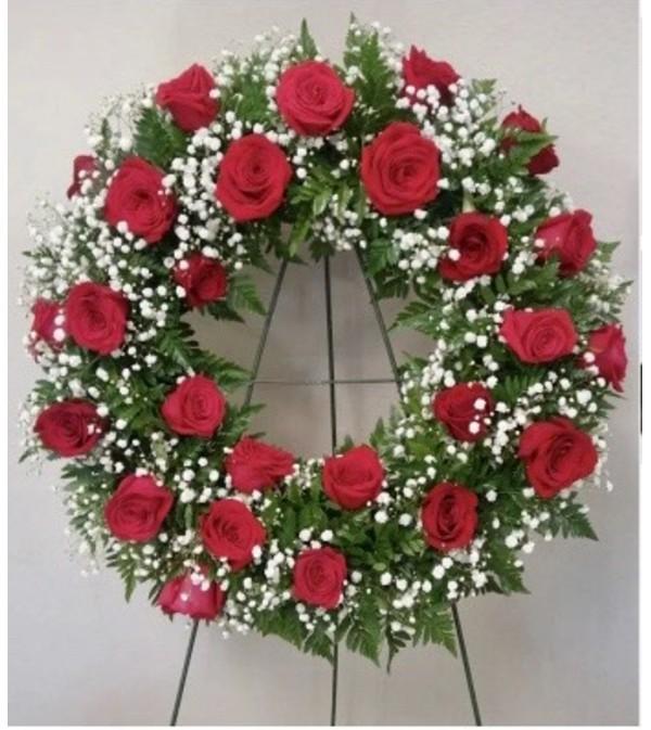 Wreath-Roses