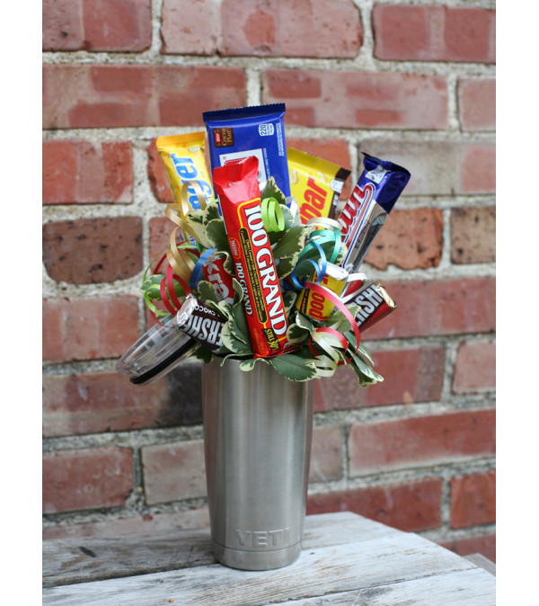 YETI Candy Bouquet