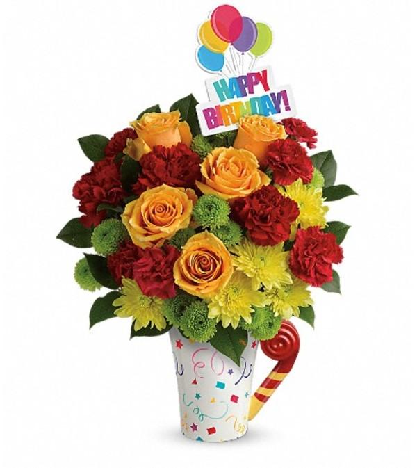 Teleflora's Fun 'n Festive Bouquet