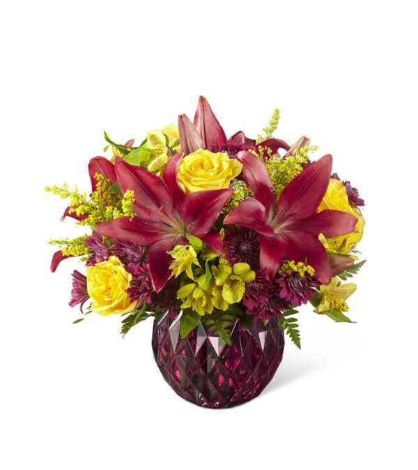 The ftd autumn splendor bouquet detroit mi florist