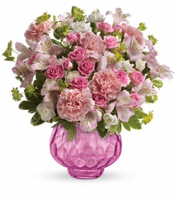 Teleflora's Simply Pink Bouquet