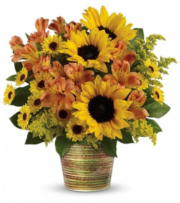 Teleflora's Grand Sunshine Bouquet