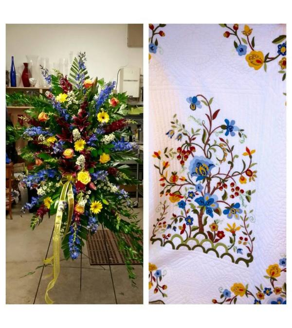 QUILTED MEMORIES EASEL