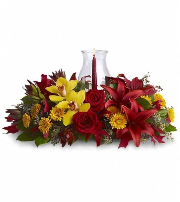 Glow of Gratitude Centerpiece