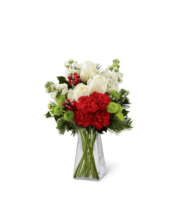 The Ftd Christmas Peace In A Vase Tuscola Il Florist