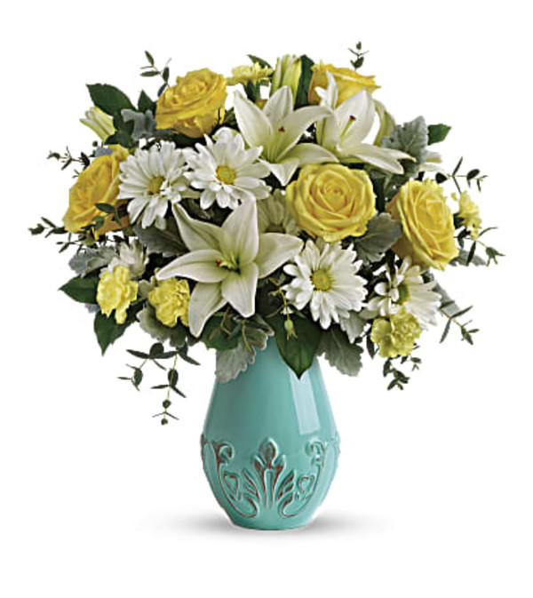 Teleflora's Aqua Dream Bouquet
