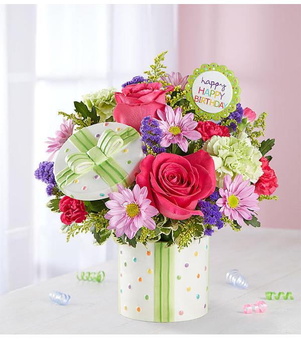 Happy Birthday Present Bouquet