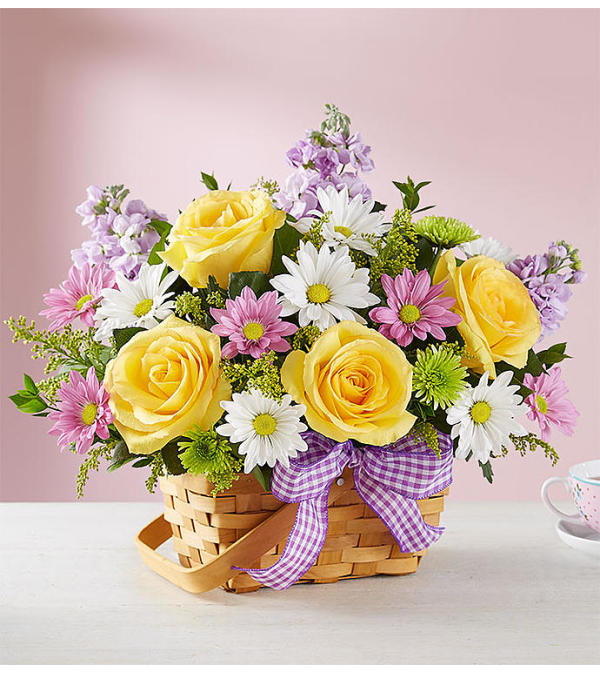 Springtime Wishes™ Basket