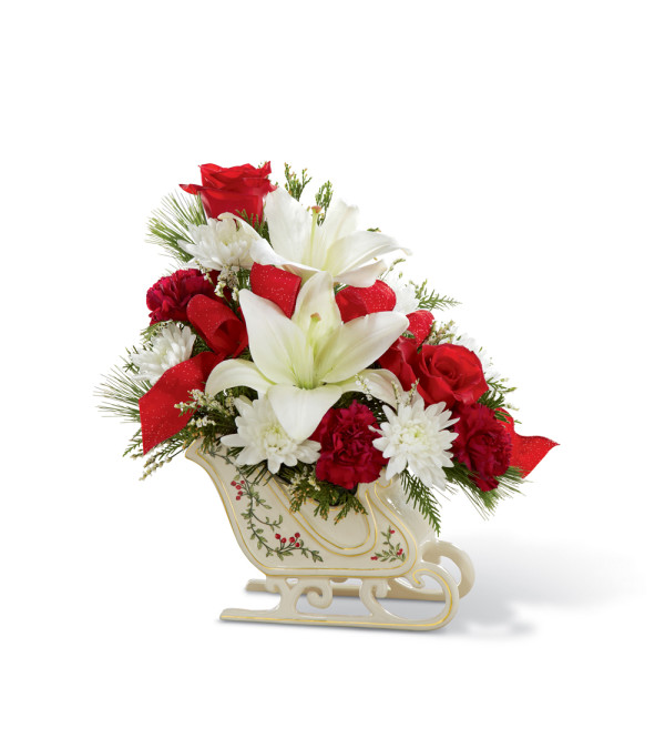 The FTD® Holiday Traditions™ Bouquet 2015