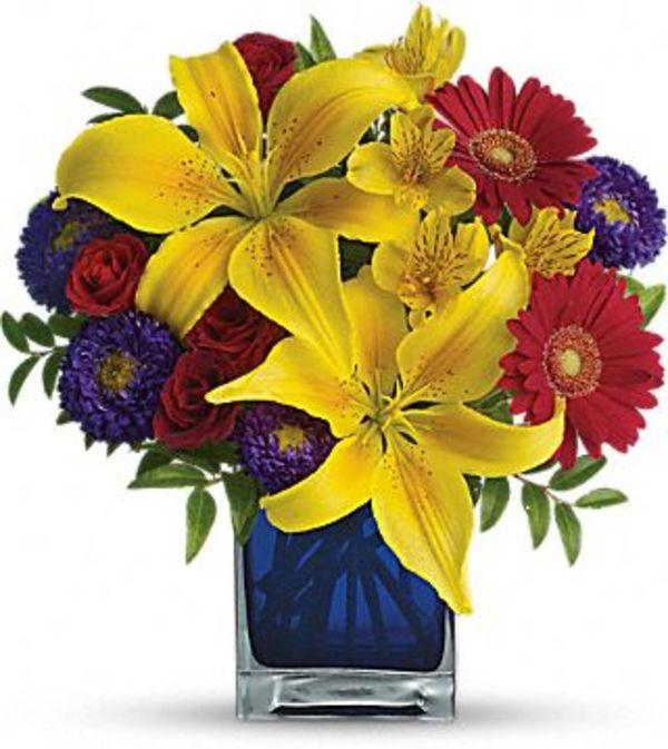 Blue Caribbean Bouquet