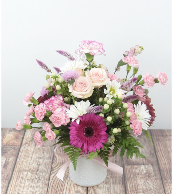 Pleasantly Pink Arrangement