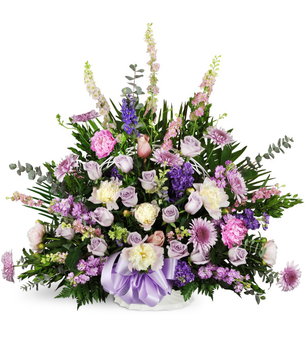 Love S Twilight Sympathy Basket Sioux Falls Sd Florist