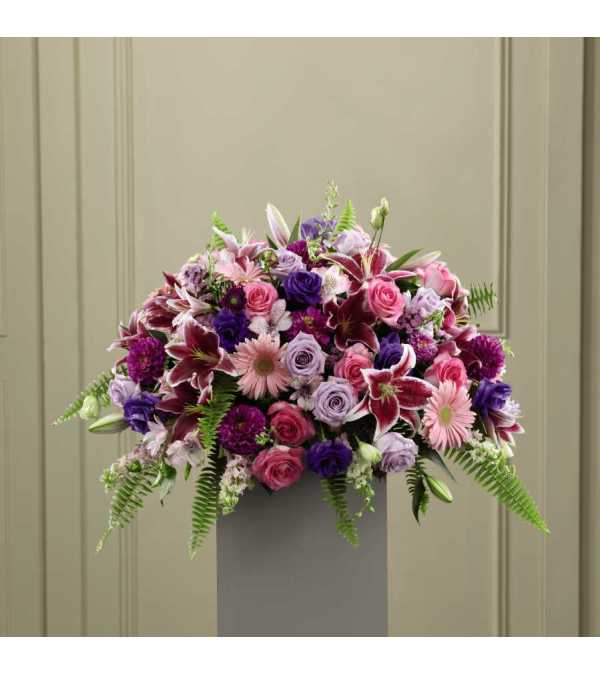 The FTD® Fare Thee Well™ Pedestal Arrangement