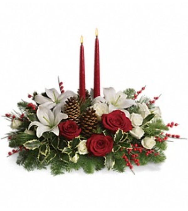 Teleflora Christmas Wishes Centerpiece
