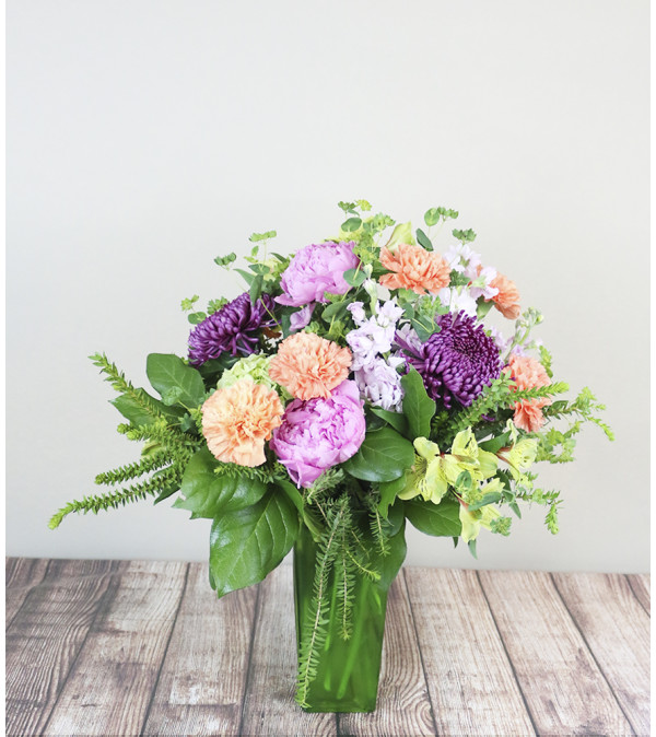 The Flower Boutique Sunny Garden Arrangement