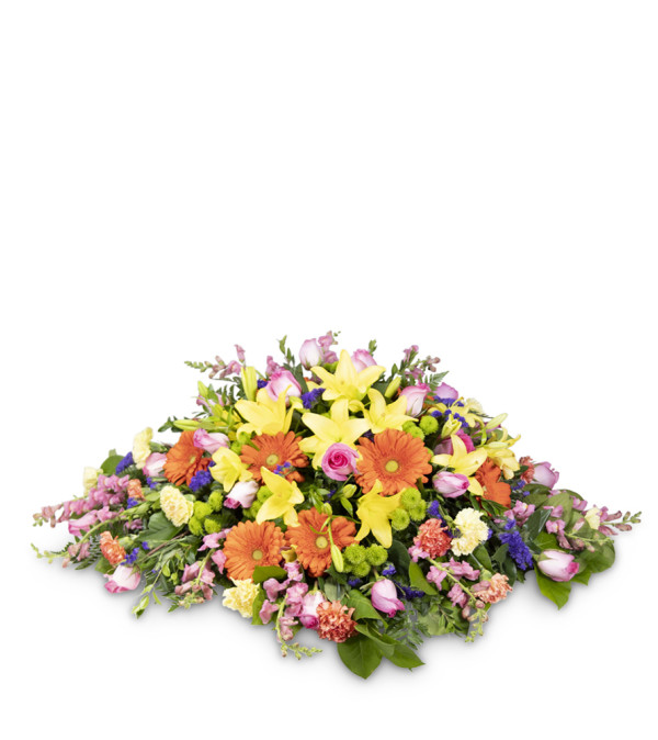 Gracious Moments Casket Spray
