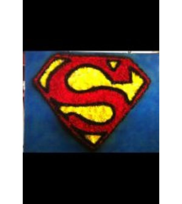 Funeral Custom Superman Sympathy Piece