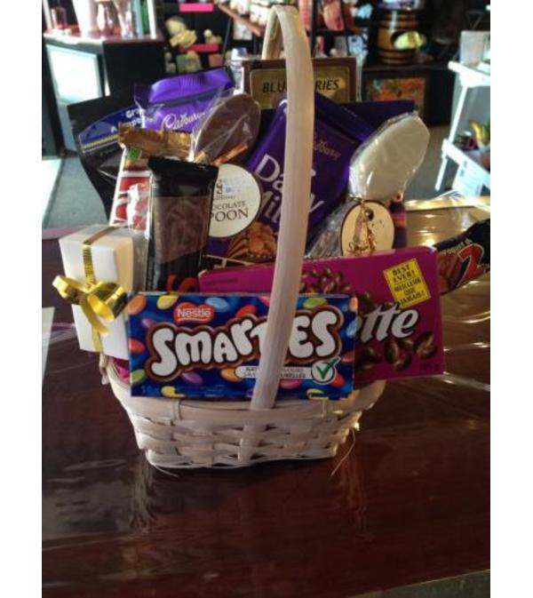 For the Love of Chocolate Basket