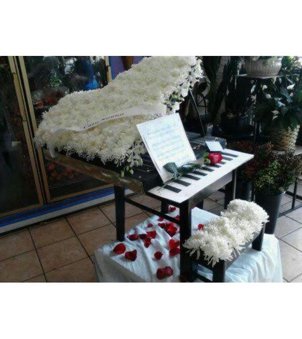Custom Funeral Piano Sympathy Piece